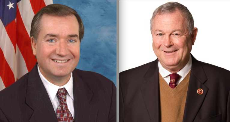 Reps. Ed Royce and Dana Rohrabacher from Orange County