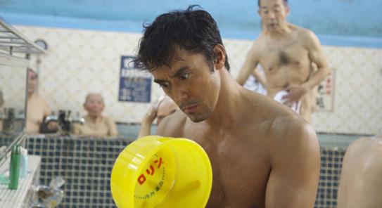 "Hiroshi Abe as Lucius in ""Thermae Romae."""