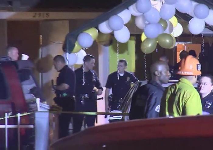 4人が死亡、11人が負傷する銃撃事件が発生したウエストアダムスの住宅