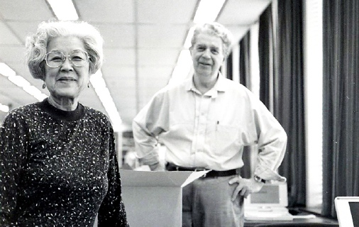 Aiko Herzig-Yoshinaga and Jack Herzig