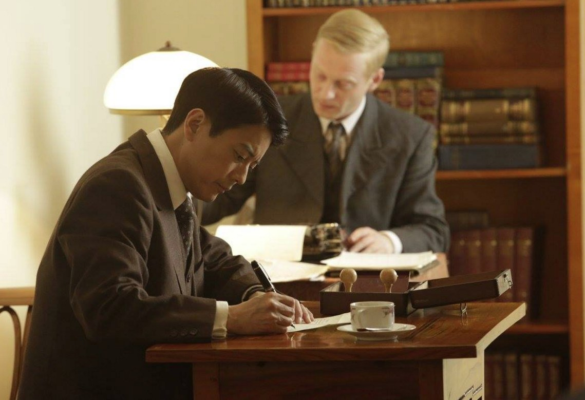 """Toshiaki Karasawa plays Chiune Sugihara in """"Persona Non Grata."""""""