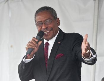 LAUSD Associate Superintendent Dr. Earl Perkins