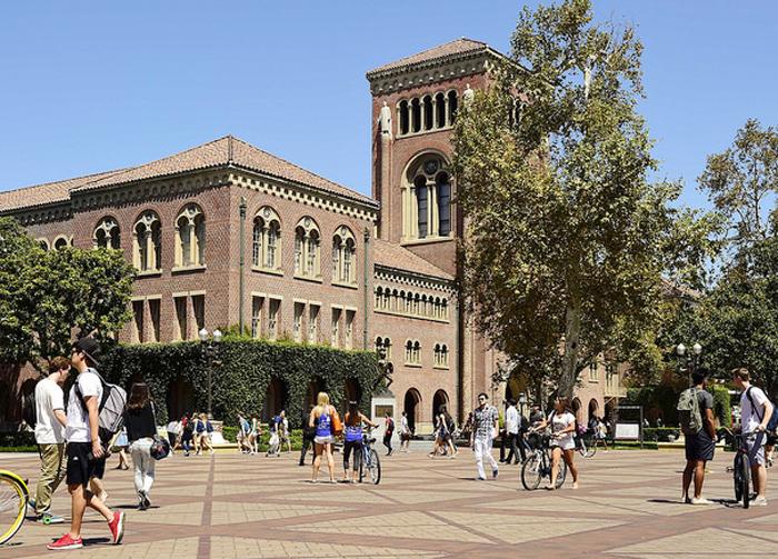昨年度の留学生受け入れ数が1万3340人で全米2位の多さとなったUSC