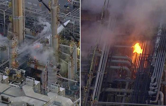 トーレンス市にあるPBFエナジー社の製油所