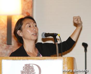 2世主導による難民移民の記録と伝承を提唱するジャネット永峰さん