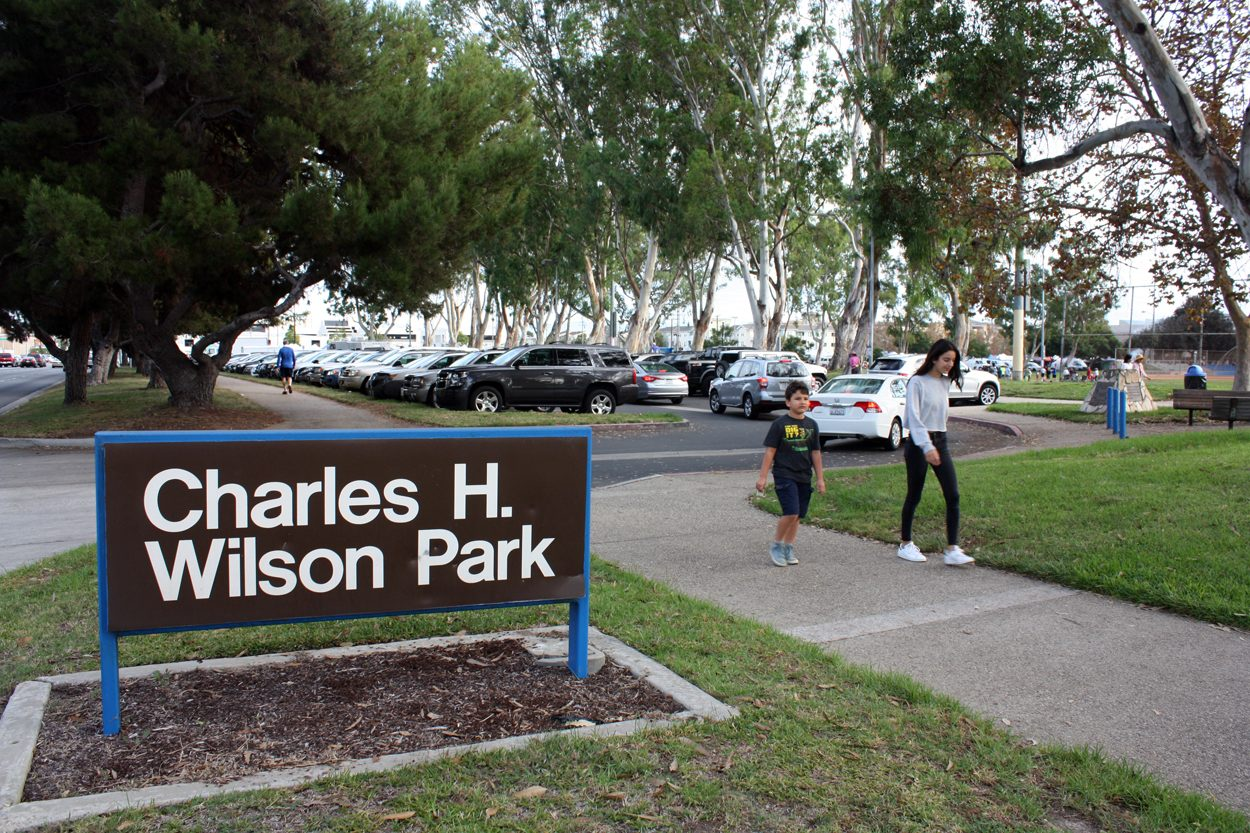 Charles H. Wilson Park in Torrance. Measure A would raise funds for parks, beaches and recreation centers in L.A. County. (GWEN MURANAKA/Rafu Shimpo)