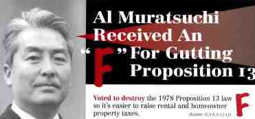 Detail of an anti-Muratsuchi mailer from the Howard Jarvis Taxpayers Association.