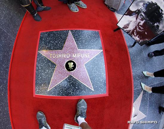 Mifune Gets Posthumous Star on Hollywood Walk of Fame