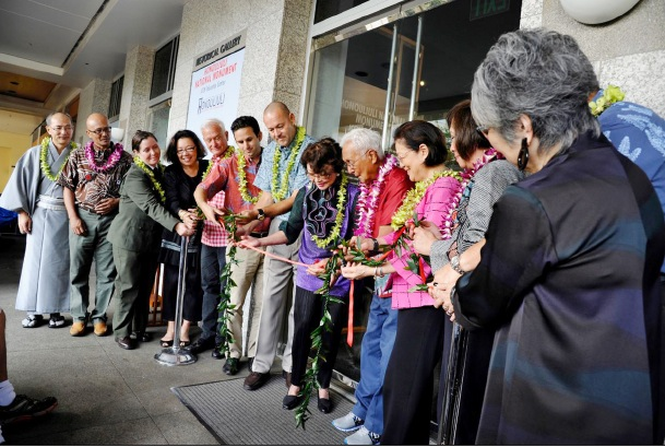 A ribbon-cutting formally opened the Honouliuli National Monument-JCCH Education Center. (Photo by Ray Tabata/JCCH)