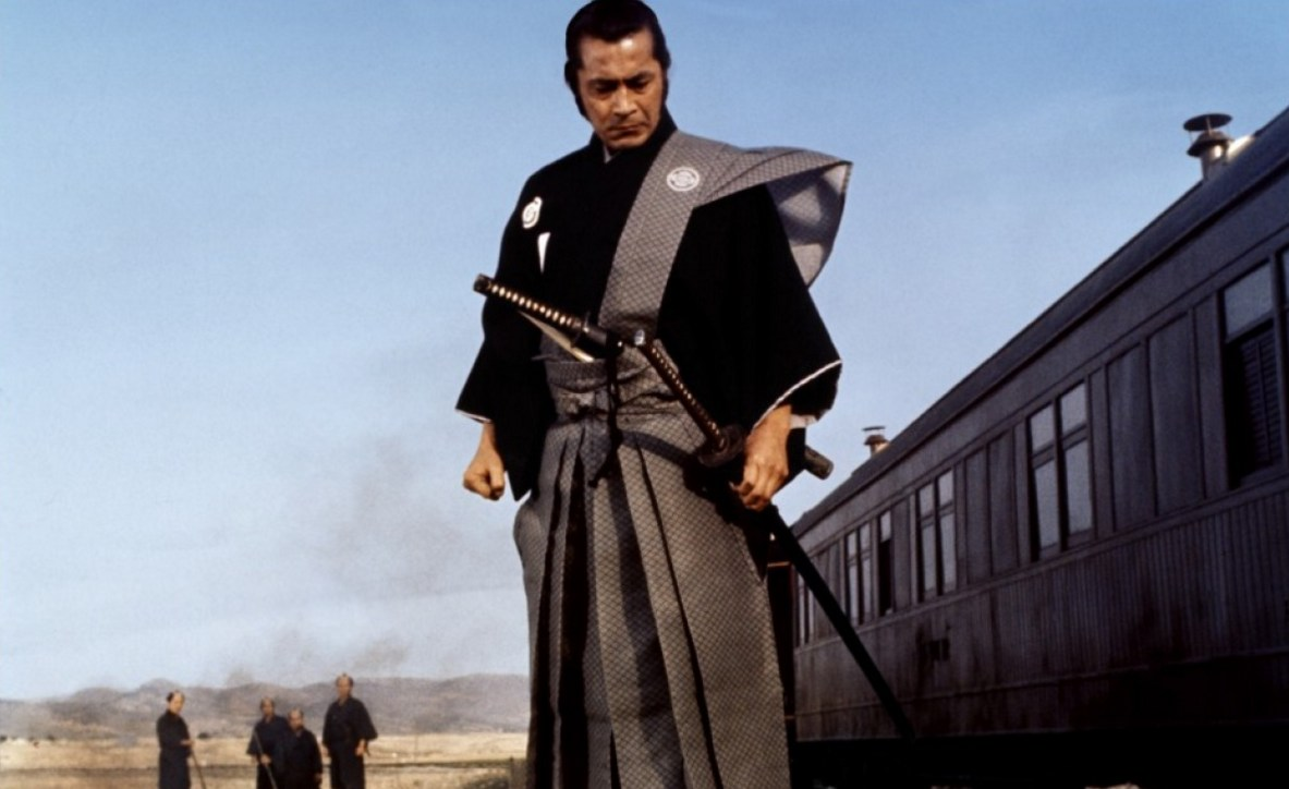 "Toshiro Mifune in a scene from ""Red Sun"" (1971)."
