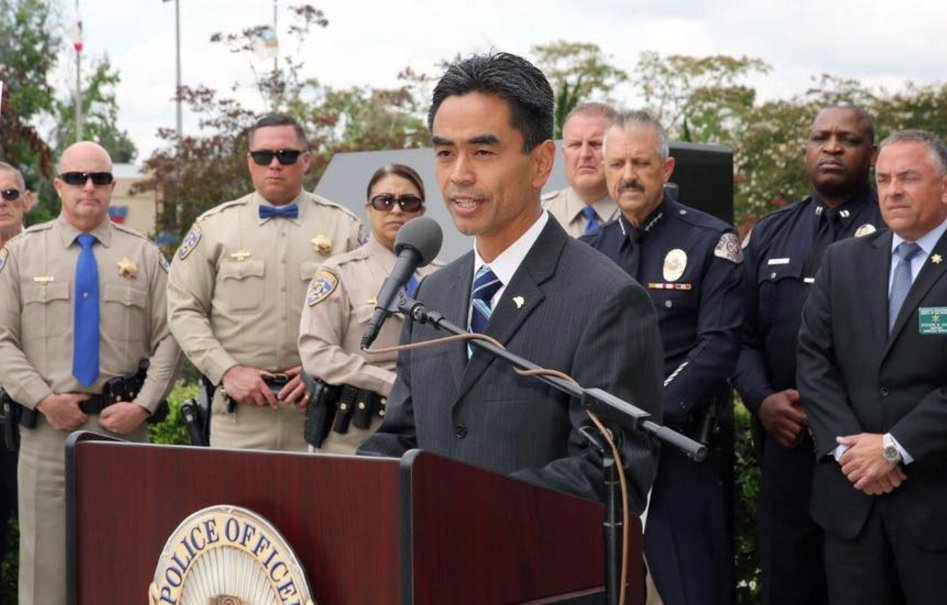 The number of West Covina police officers increased during James Toma's term as mayor.