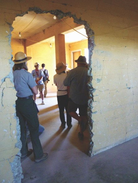 The Tule Lake Segregation Center's jail has been preserved.
