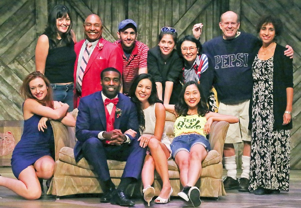 "Winkler with the multicultural cast of ""Kentucky."""