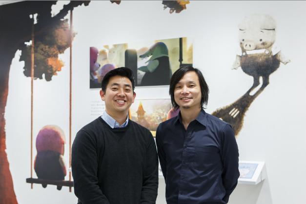 """Robert Kondo and Daisuke """"Dice"""" Tsutsumi."""