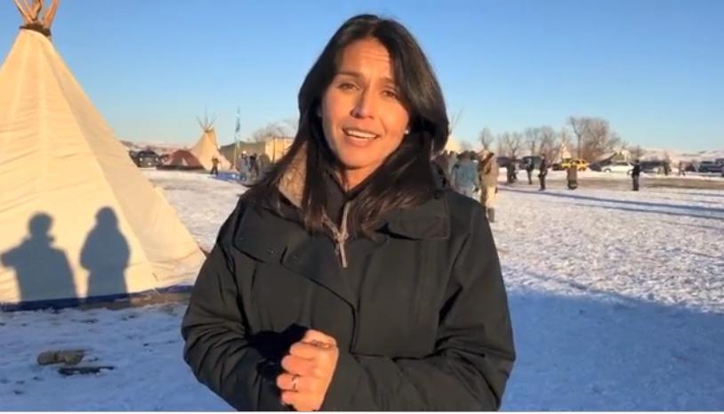 Rep. Tulsi Gabbard at Standing Rock.