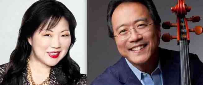 Margaret Cho and Yo-Yo Ma