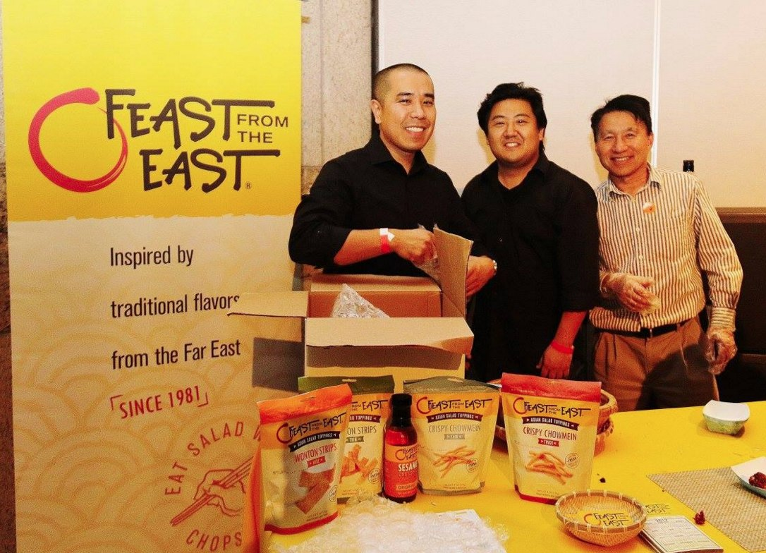 Feast from the East was among the local restaurants that catered the event.