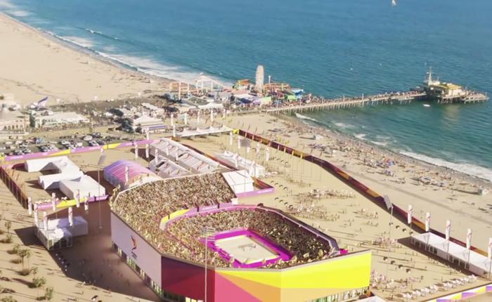 24年夏季五輪:LAで開催されれば経済効果、最大112億ドル