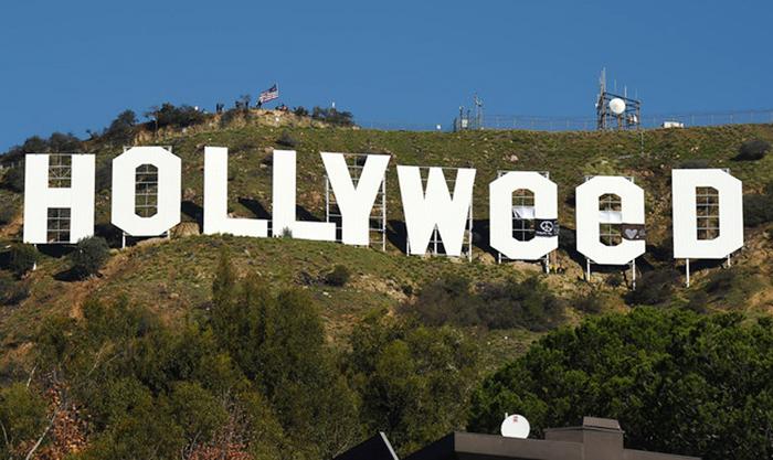 ハリウッドサイン:いたずらしたアーティストが自首