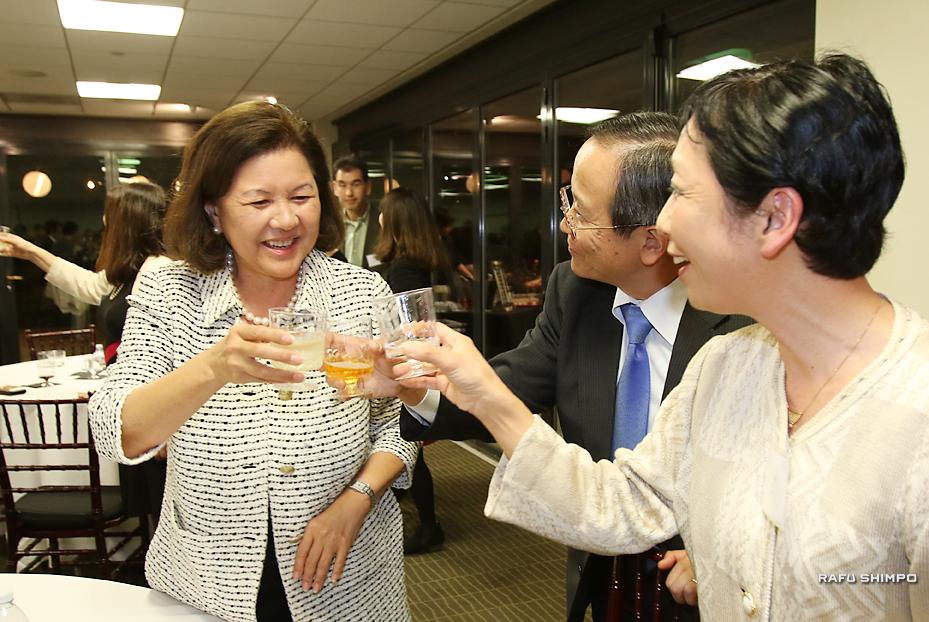 訪日プログラムに意欲:日米関係の貢献に期待