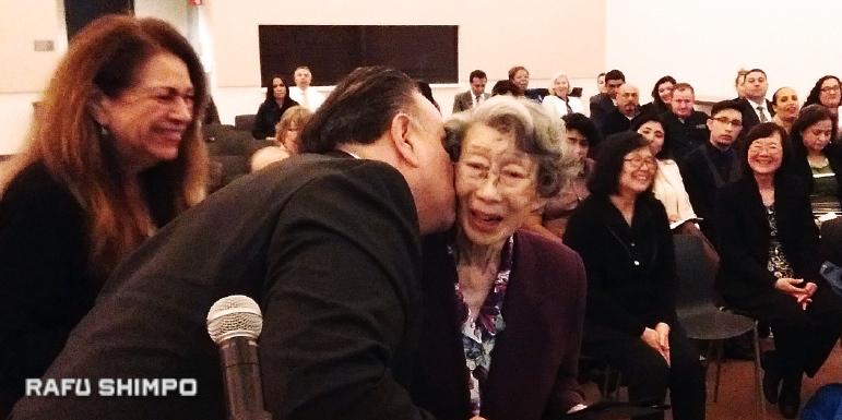 Nisei Receives Honorary Degree from LACC