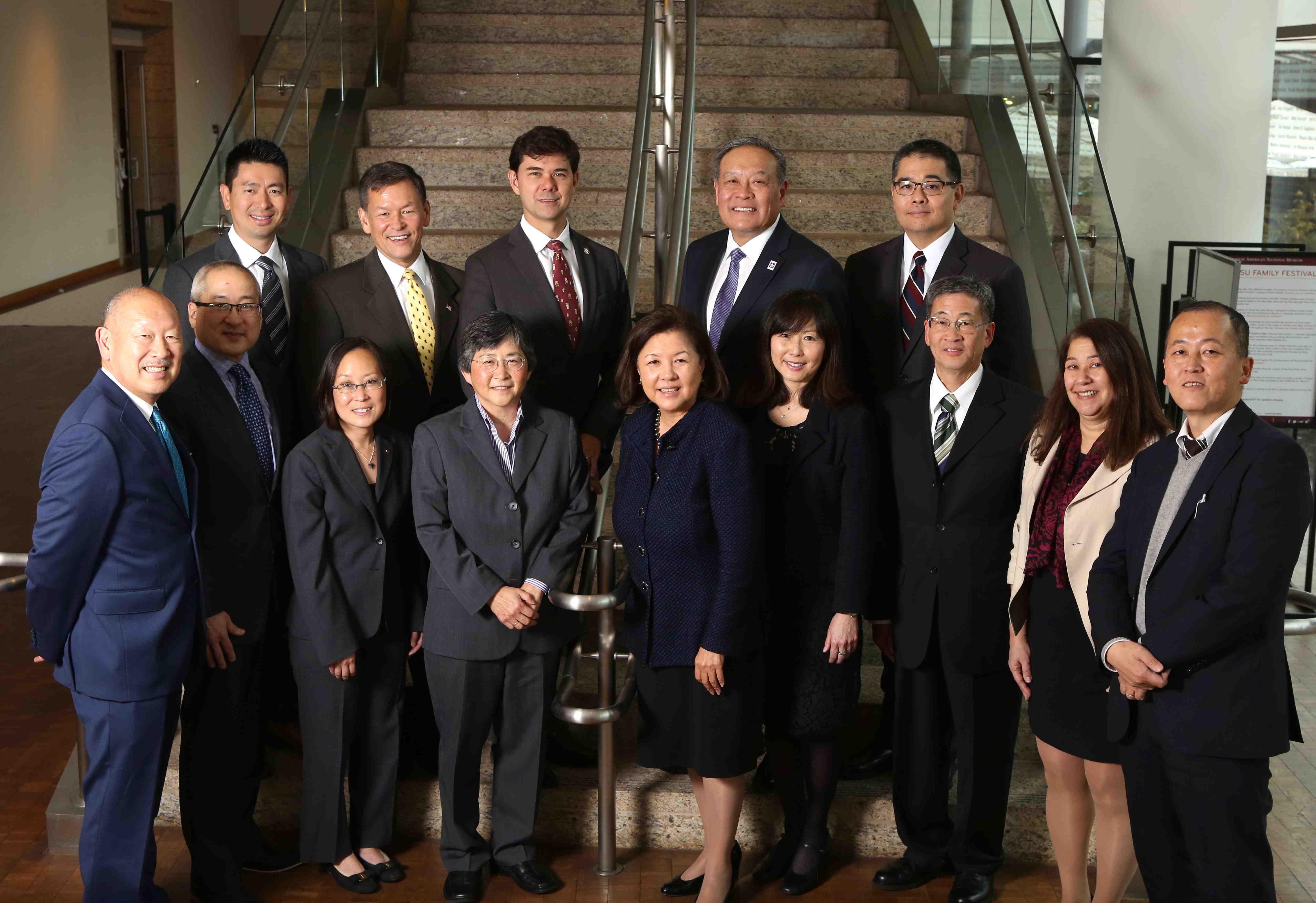 11-Member JA Leadership Delegation Heads for Japan
