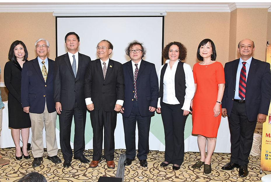 5月7日、アジア合唱祭:日台韓など5カ国合同で