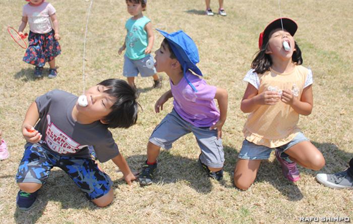 南加宮城県人会ピクニック:新たな七夕飾り4体を披露
