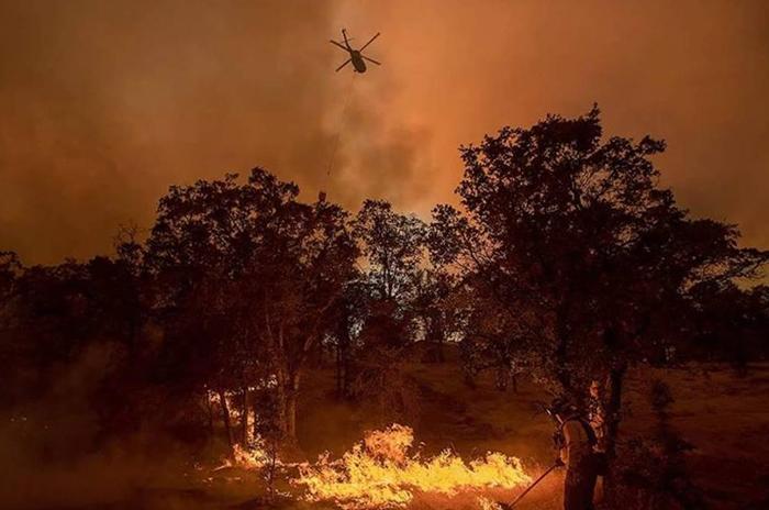 ヨセミテ付近で山火事:加州知事、非常事態を宣言