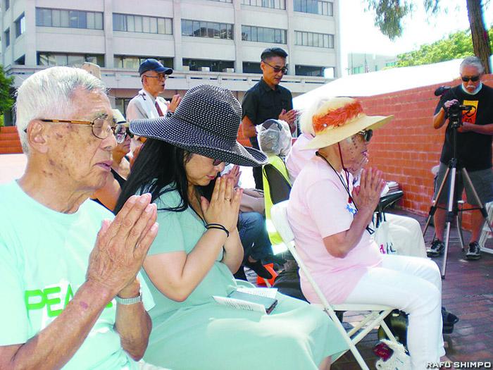 小東京で平和祈念イベント:広島、長崎原爆の被爆者慰霊