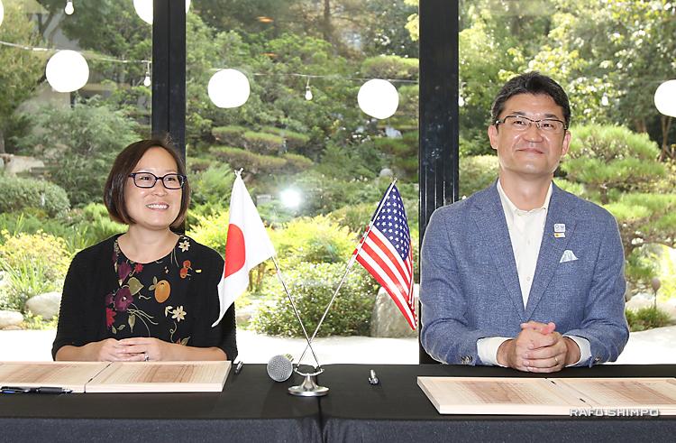 日米文化会館と宮崎県が連携:県産品の販促、観光・文化交流も