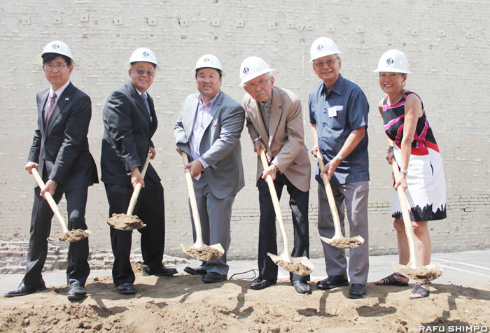 「ポール・I・テラサキ武道館」:建設予定地で起工式