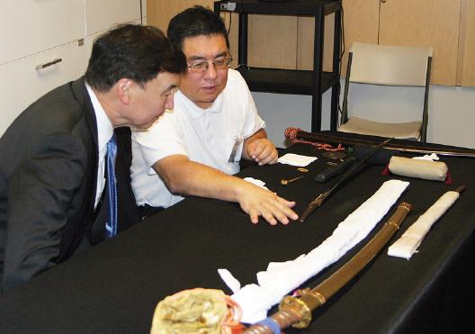 GFBNEC Presents 'Nikkei Samurai: Japanese Swords and the