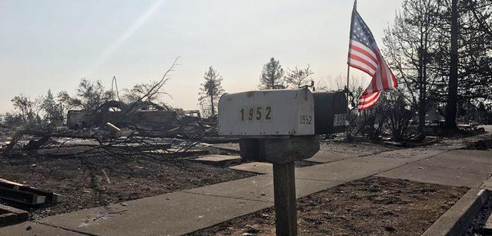 北カリフォルニア山火事:犠牲者40人に