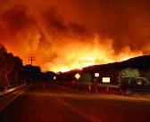 ベンチュラ郡:山火事で5万エーカー延焼