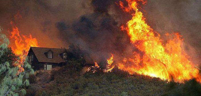 ベル・エア山火事:ホームレスが不法に料理し引火