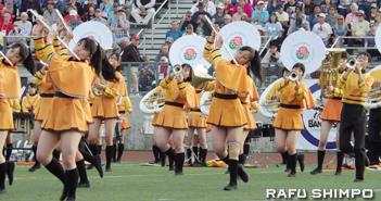 手術で克服 3年間の集大成・ステップ数最多・京都橘高校吹奏楽部・ローズパレード参加の金丸仁美さん