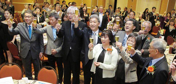 藤田会長、6年目の船出:地域の功労者をたたえ表彰