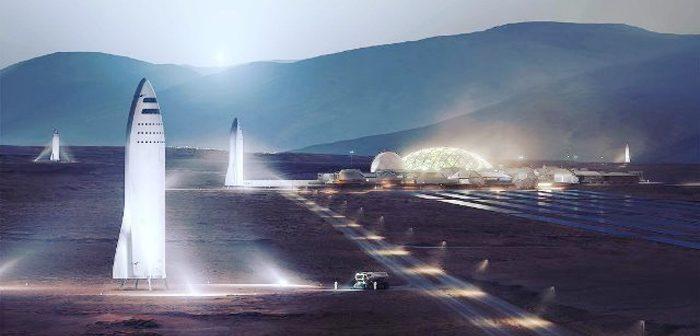 スペースX:ターミナルアイランドでロケット建造