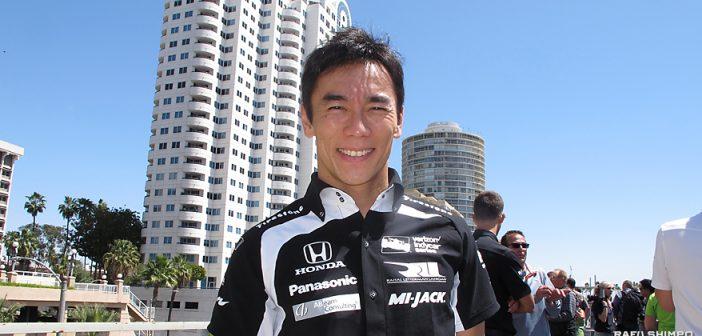 佐藤琢磨選手の力走に期待:13日からロングビーチで3日間