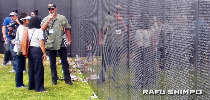 Wall's Message to Vietnam Vets: 'Welcome Home'