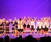 アジア合唱祭で4カ国交流:歌を通じ友好、心を一つに