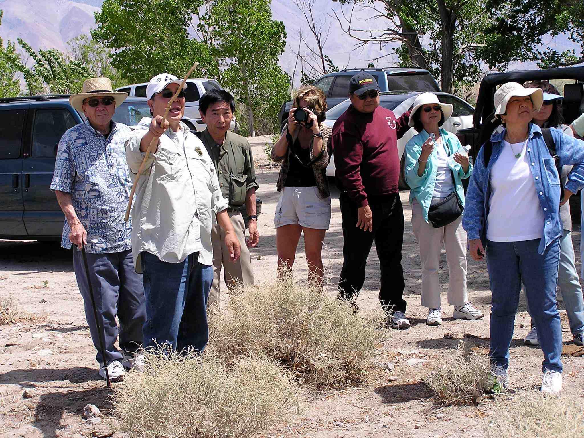 Manzanar weekend for National fishing association