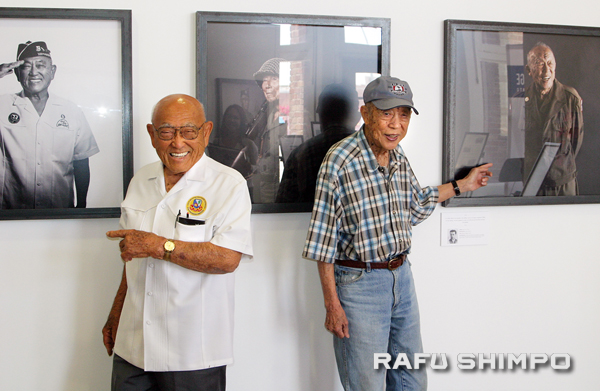 Go For Broke Displays Portraits of Nisei Vets