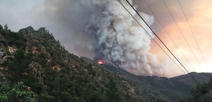 ヨセミテ国立公園付近で山火事:消防隊員1人が死亡
