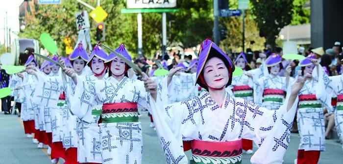 二世週祭:小東京でグランドパレード