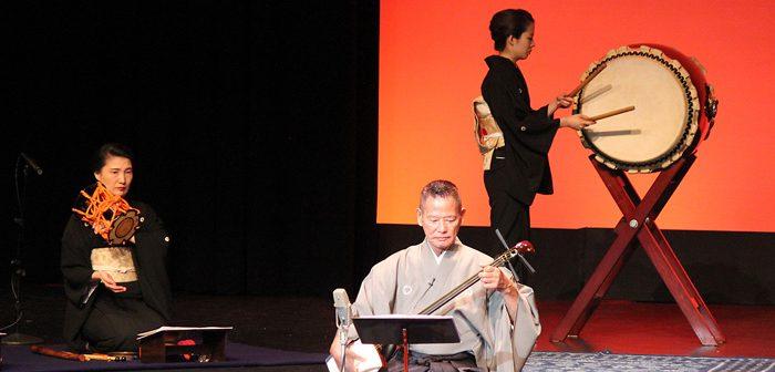 カルフォルニア日本舞踊会:「三味線の芸」を開催