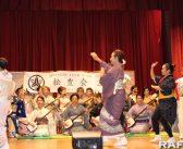 観客300人、賑やかに温習会:笹本流家元、坂東流と共演も
