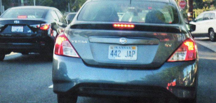 Kansas Recalls Hundreds of License Plates Containing Racial Slur