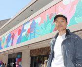 ハシモト・プラザに壁画誕生:色鮮やかに小東京を彩る